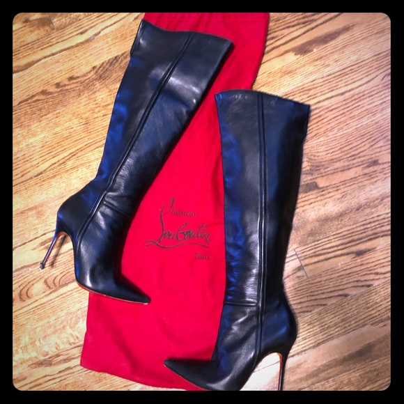 sneakers for cheap 39358 edfb4 Christian Louboutin Shoes | Knee High Boots | Poshmark